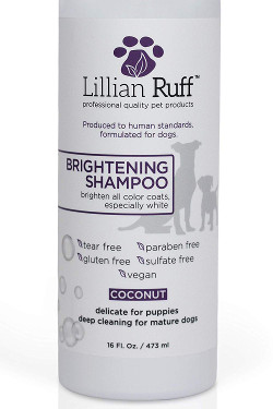 Lillian Ruff Brightening and Whitening Shampoo